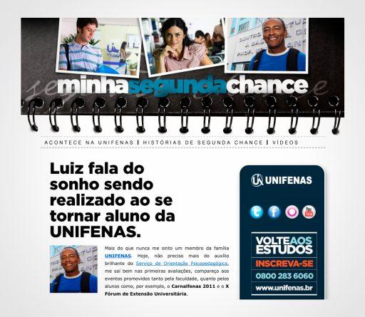 Unifenas | Minha Segunda Chance