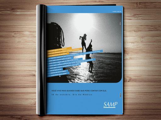 Samp | Anúncio Dia do Médico