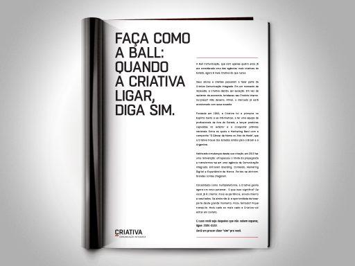 Criativa Propaganda | Campanha de Integração